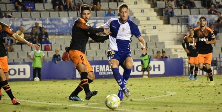 Édgar tornarà a la convocatòria del Centre d'Esports després de complir el partit de sanció | Críspulo Díaz