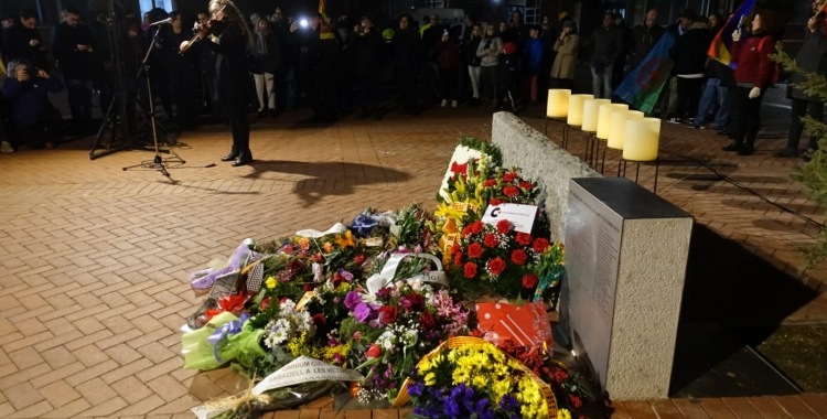 Acte d'homenatge a les víctimes de l'holocaust   Pere Gallifa