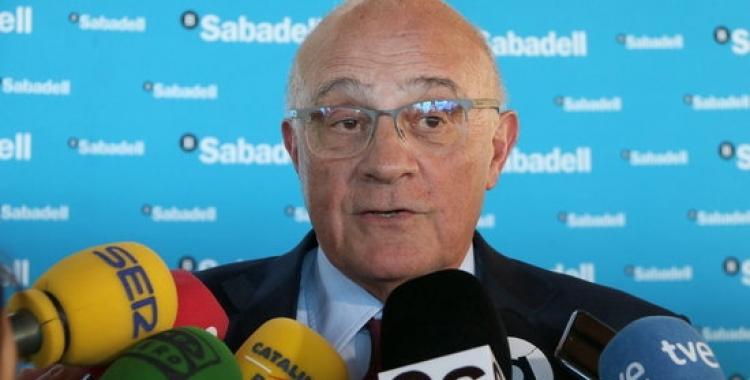 Josep Oliu, president del BS   ACN