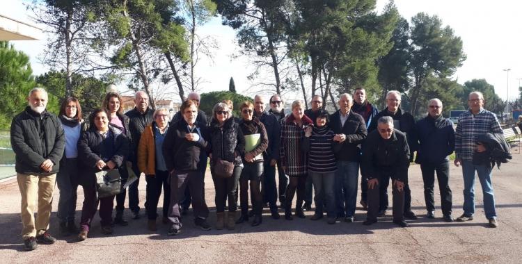 Els membres de la FAV, després del balanç de l'any/ Karen Madrid