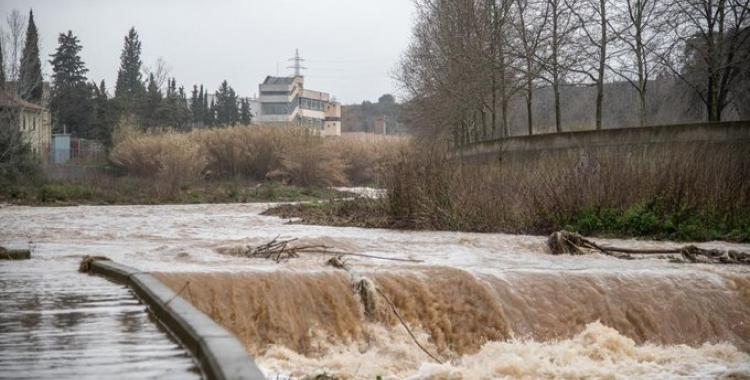 Imatge de la crescuda del riu Ripoll   Roger Benet