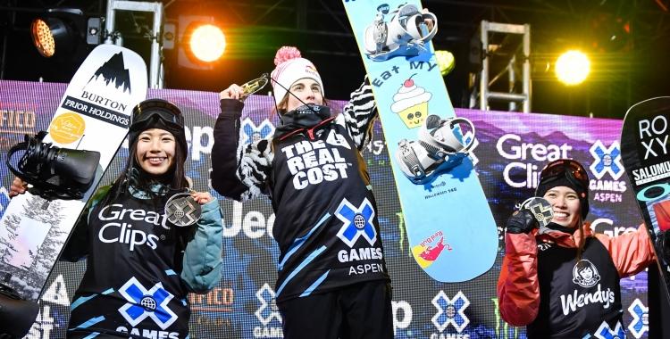 Castellet, exultant al podi d'Aspen   X Games