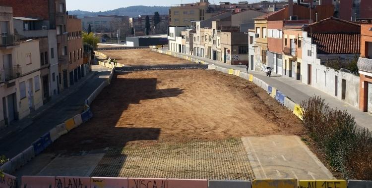 El veïnat proposa fer un aparcament sobre el soterrament dels FGC | Cedida