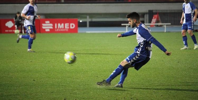 Boniquet, en el darrer partit a La Nucia | Jesús Arroyo