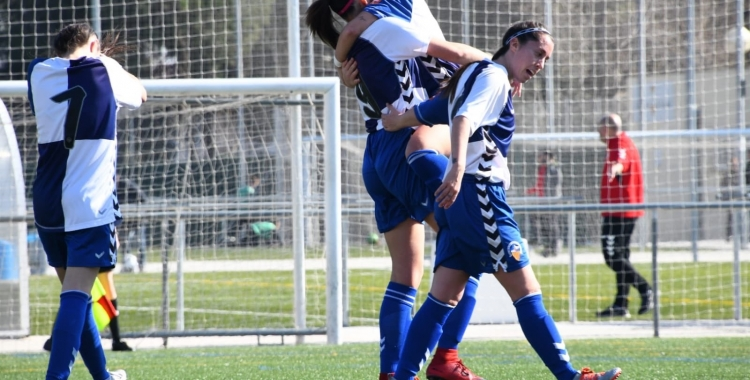 Alegria arlequinada en un dels quatre gols anotats diumenge   CES