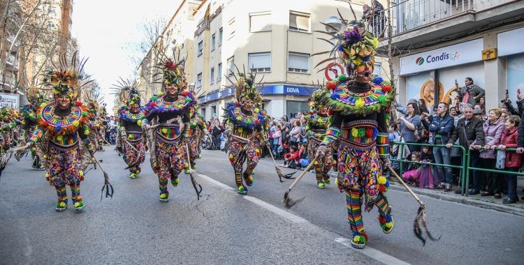 Rua de Carnaval 2020: 1.700 participants, 30 comparses i 10carrosses   Roger Benet