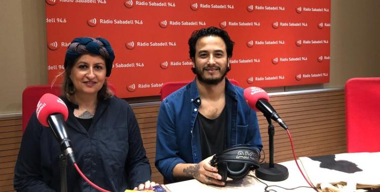 Els pares de'n Biel, la Judith i en Jorge, a Ràdio Sabadell/ Ràdio Sabadell