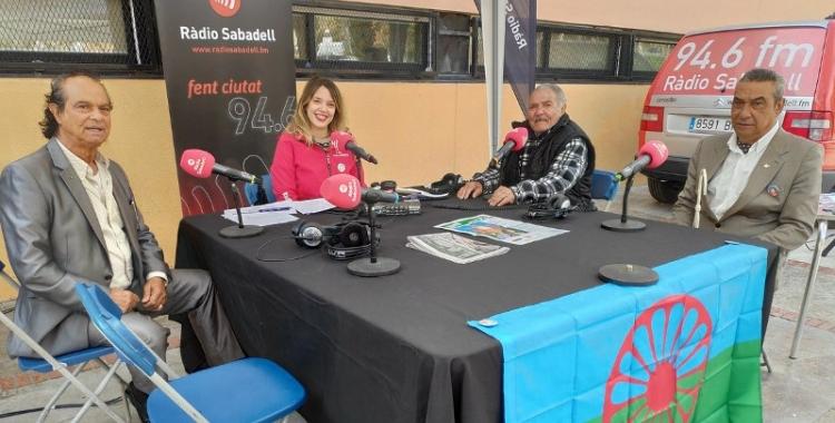 Mateo Soler Bautista, el 'tío Matuel', a la dreta del centre de la imatge | Ràdio Sabadell