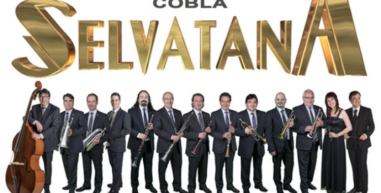El conjunt encarregat de posar-hi la part musical ésla CoblaSelvatana   Cedida