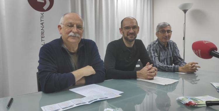 Isidre Soler, Maties Serracant i Juli Moltó | Pau Duran
