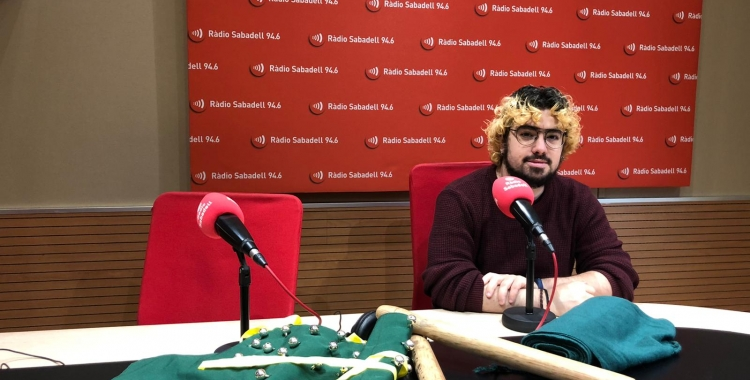 La Colla de Bastoners de Sabadell critica la retallada de la subvenció de la Diputació de Barcelona | Raquel Garcia