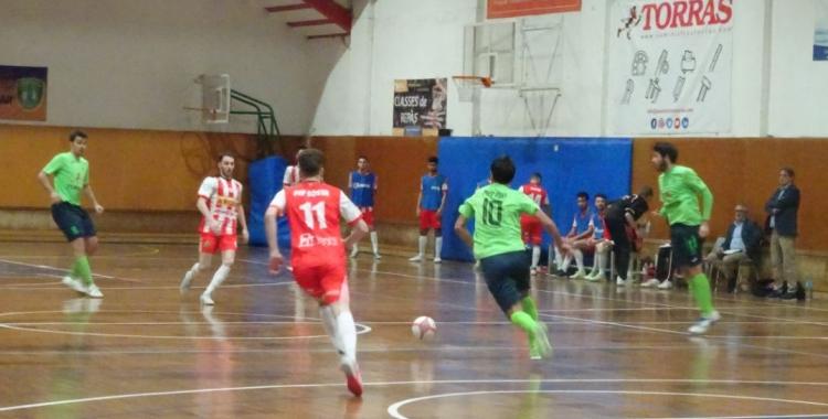 El Futsal Pia ho va intentar insistentment però no va trobar l'empat | Sergi Park