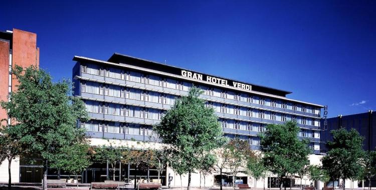 Imatge del Gran Hotel Verdi, a l'Eix Macià