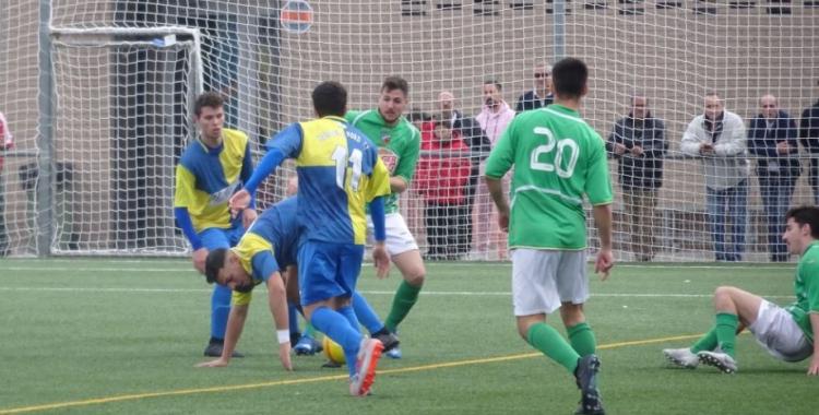 Imatge del partit entre el Sabadell Nord i el Lloret | Sergi Park