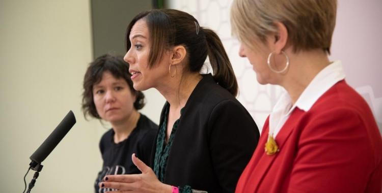 D'esquerra a dreta: Marta Morell, Marta Farrés i Lourdes Ciuró | Roger Benet