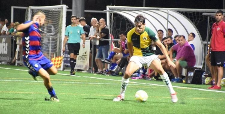 Aleix Roig ja ha jugat un cop aquest curs contra el Llagostera: en pretemporada | Críspulo Díaz