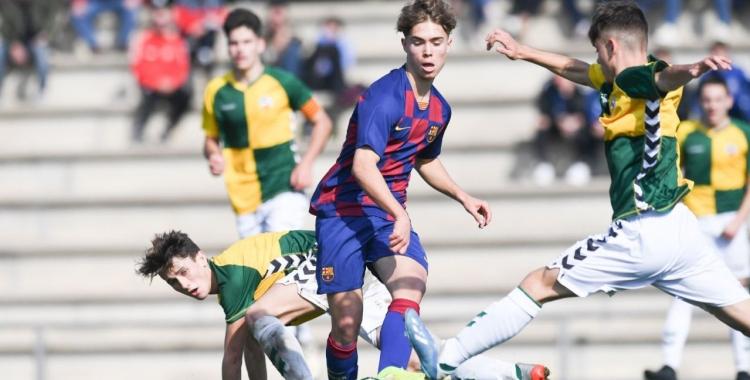 El Juvenil 'A' del Centre d'Esports es va imposar (1-2) al Barcelona 'B' | FC Barcelona