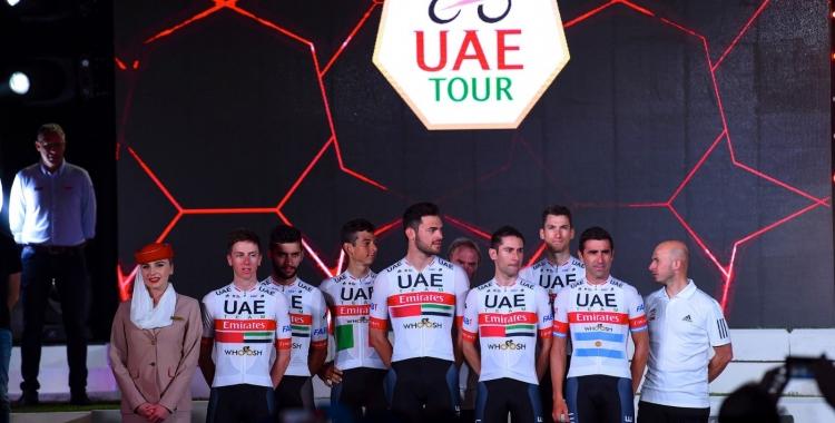L'equip de De la Cruz s'ha vist afectat de ple al Tour dels Emirats Àrabs   UAE Emirates