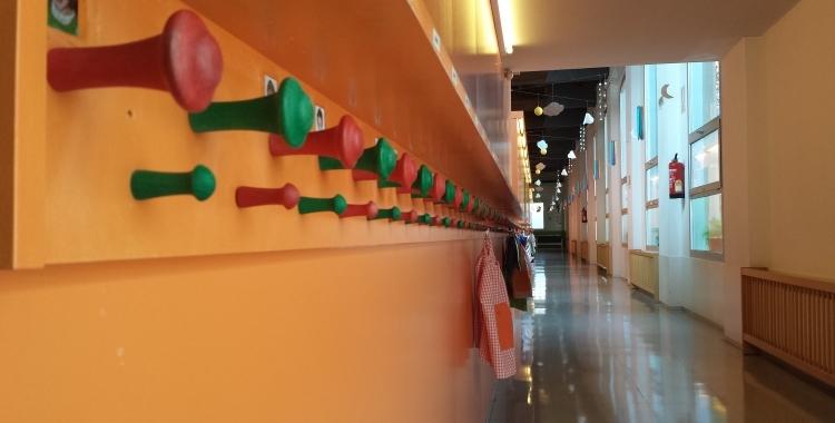 Primer dia sense escolars als centres   Pau Duran