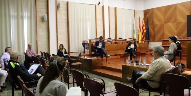 El Comitè de Seguiment de l'Ajuntament es reuneix diàriament per analitzar la situació | Cedida
