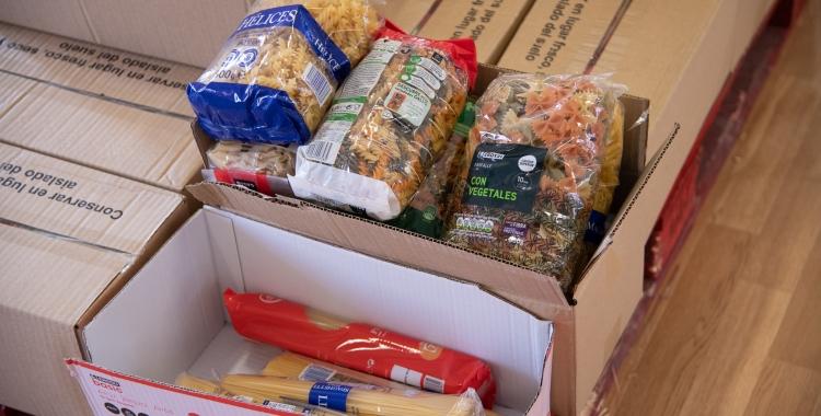 Lot de productes del Rebost Solidari | Roger Benet