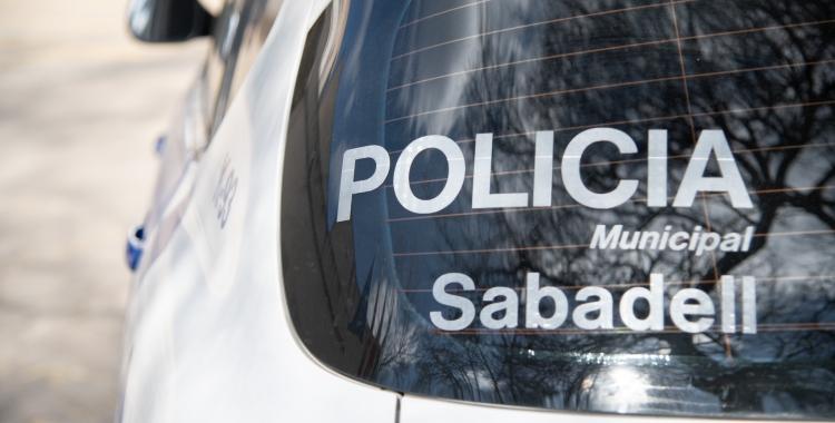 Un cotxe de la Policia Municipal/ Roger Benet