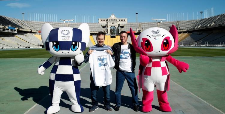 Morales ja coneix les mascotes dels Jocs | Comitè Paralímpic Espanyol