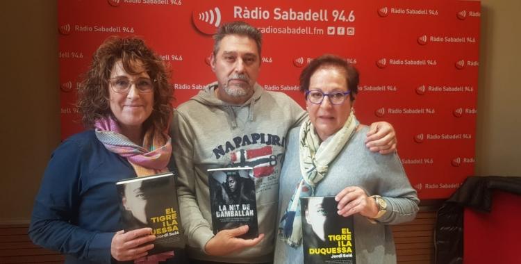 """Jordi Solé amb les Dames del Crim al programa """"Al Matí""""   Raquel García"""