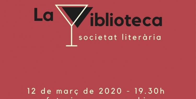 La viblioteca vol barrejar la cultura literària i la vinícola | Cedida