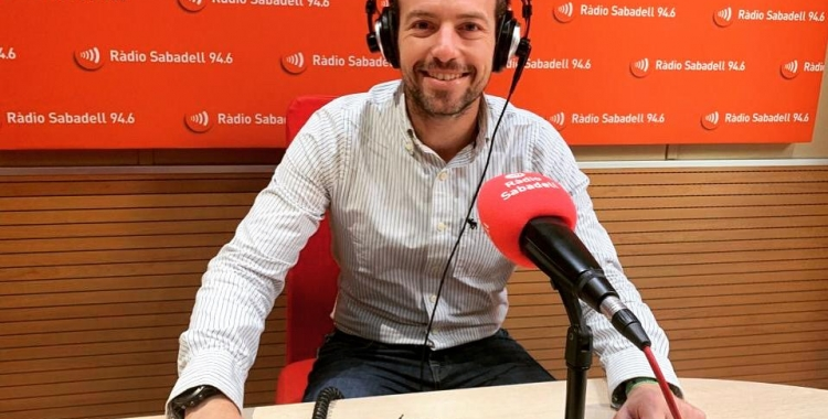 Nil López, president del Consorci de Residus del Vallès Occidental   Arxiu