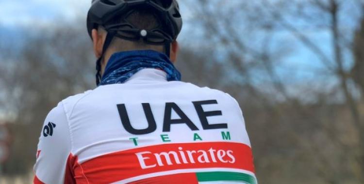 De la Cruz no disputarà ni la Volta a Catalunya ni el Giro d'Itàlia | UAE Team Emirates