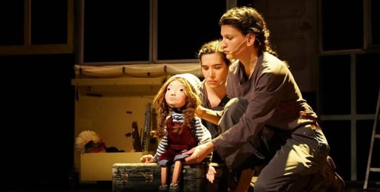 Les companyies teatrals, com Engruna Teatre, han reduït al 100% la seva activitat | Arxiu