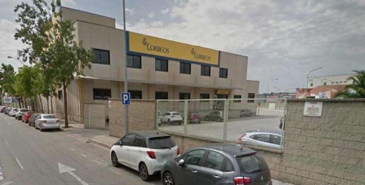 Seu de Correus al carrer Boccaccio de Sabadell | Arxiu