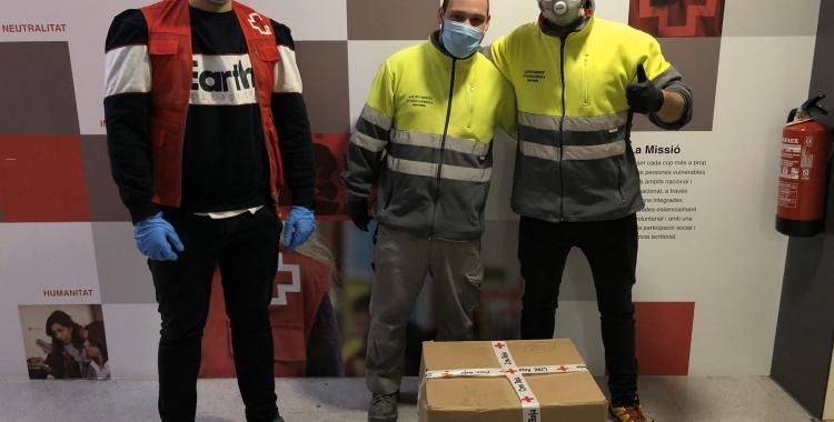 Imatge dels voluntaris de Creu Roja Sabadell | Creu Roja Sabadell
