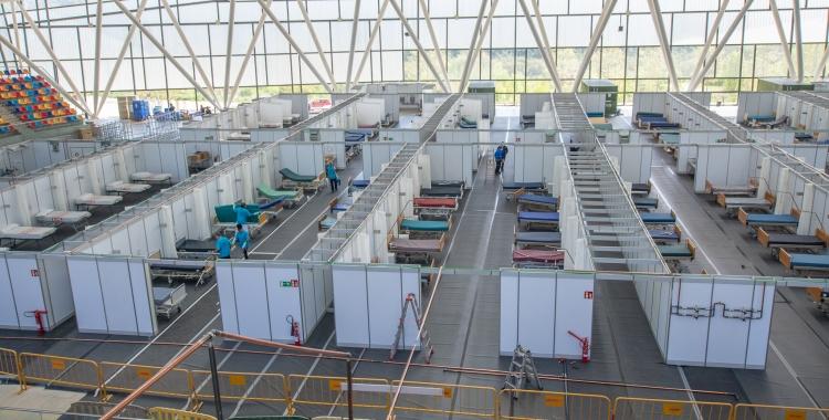 L'Hospital Temporal Vallès Salut en fase de construcció | Roger Benet