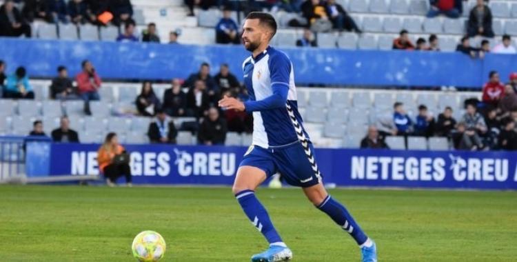 Grego, en acció aquesta temporada   Críspulo Díaz
