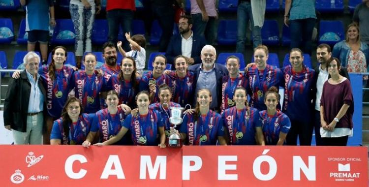 El Mataró ja va aixecar la darrera Supercopa d'Espanya a Can Llong | Roger Benet