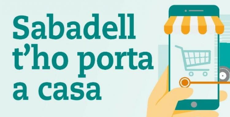 """""""Sabadell t'ho porta a casa"""": aplicació mòbil per a revitalitzar el comerç de proximitat"""