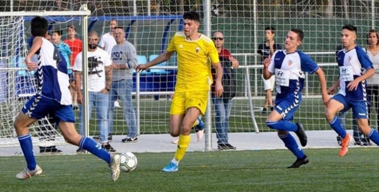 Vallès, en el derbi a Olímpia contra el Sabadell | JM Guarch (Mercantil)