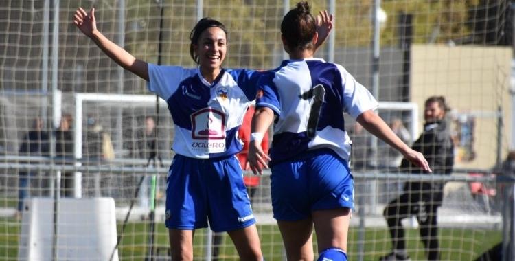 El Sabadell femení estava vorejant el precipici, a 10 punts de la salvació | Críspulo Díaz