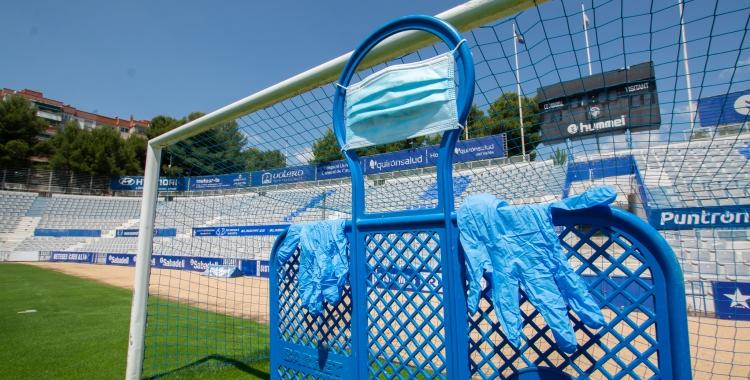La NCA ho té tot a punt per tornar a acollir els jugadors del Sabadell | Roger Benet