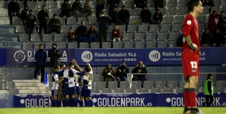 Els jugadors del Sabadell encara hauran d'esperar unes tres setmanes per tornar-se a entrenar a la NCA   Sendy Dihör