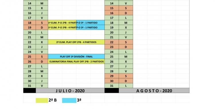 Aquest és el calendari que ha fet oficial l'RFEF