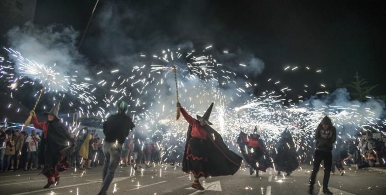 Imatge de la cercavila infernal de Festa Major | Roger Benet