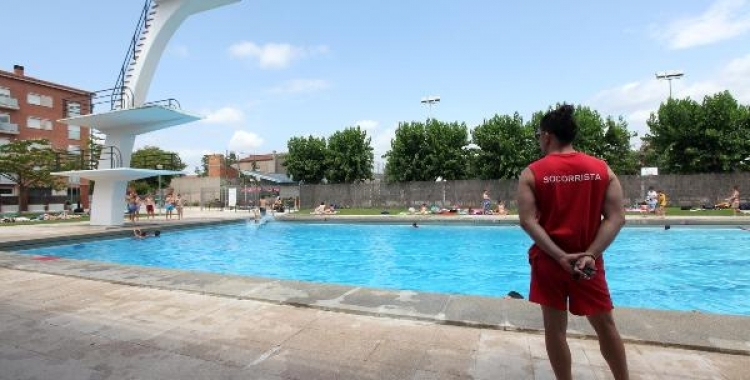 Can Marcet serà una de les piscines que obrirà en els pròxims dies   Ajuntament de Sabadell