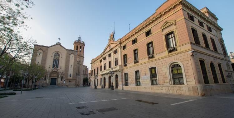 Exterior Ajuntament de Sabadell/ Roger Benet