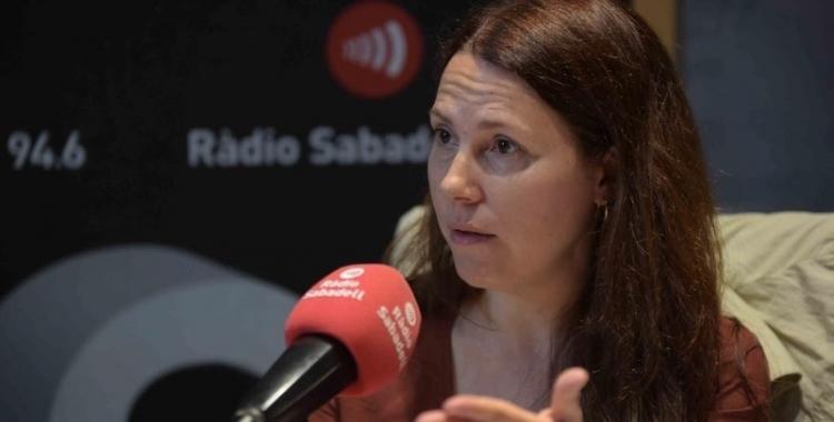 La Síndica, Eva Abellan/ Arxiu Ràdio Sabadell