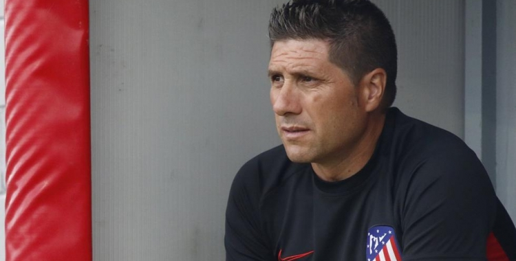 Fernández, tècnic de l'Atlético 'B' | Cedida