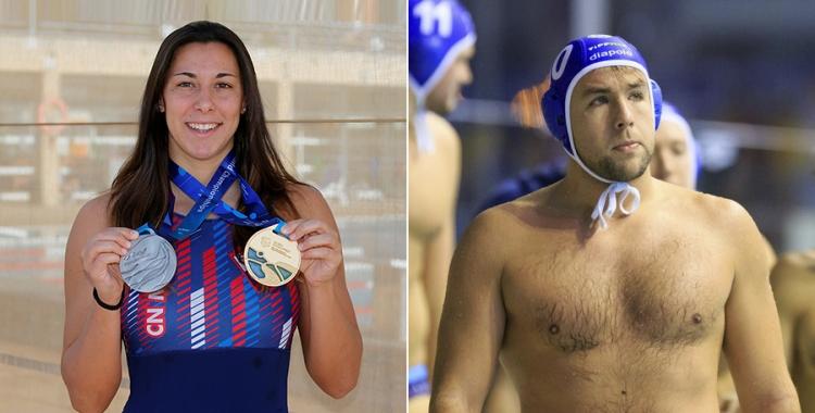 González i Ubović són nous waterpolistes de l'Astralpool | Esportiu Maresme / OSC
