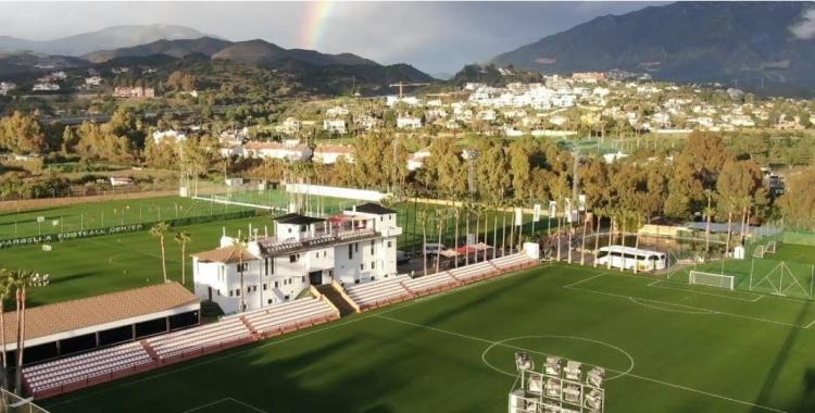 Vista aèria de les instal·lacions de Marbella Football Center   marbellafootballcenter.com
